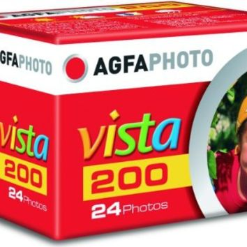Agfa Photo Vista Plus 200 135-24 Color Negative Film, 3 Pack