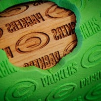 Green Bay Packers,  Patterned Rolling pin - laser engraved rolling pin, embossing rolling pin! by Everlasting Doodle