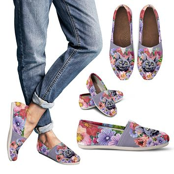 Floral Cat Casual Shoes-Clearance