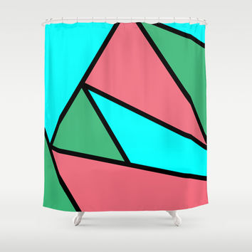Another Initial Shower Curtain by Kat Mun | Society6