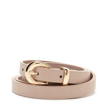 Skinny Faux Leather Belt | Forever 21 - 2000220330