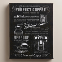 """""""Good Coffee Guide"""" by Tom Frazier - World Market"""