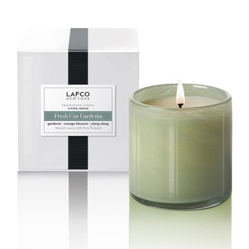 Fresh Cut Gardenia 'Living Room' Candle