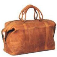 Odyssey Travel Bag - Tan Pull-Up Leather