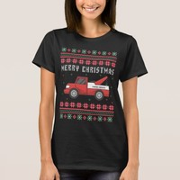 Tow Truck Ugly Christmas Sweater
