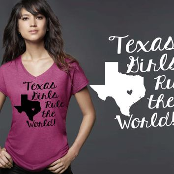 Texas Girls T-shirt | Texas State