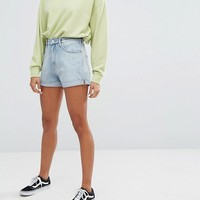 Weekday Shorts with Roll hem at asos.com