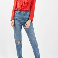 TALL Rip Mom Jeans - Jeans - Clothing