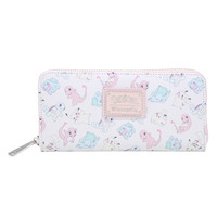 Loungefly Pokemon Pastel Starters Zip Wallet