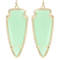 Skylar Earrings in Chalcedony - Kendra Scott Jewelry