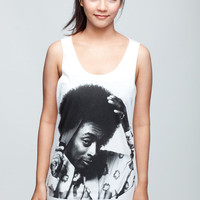 SPIKE LEE T Shirt Mars Blackmon Jordan Afro Hair Women White T-Shirt Vest Tank Top Singlet Sleeveless Size S M