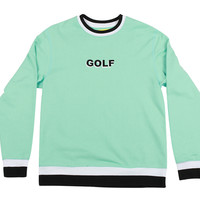 GOLF CREWNECK MINT