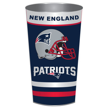 NFL New England Patriots Wastebasket