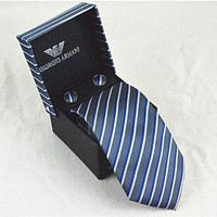 Boys & Men Armani Classic Formal Tie Necktie