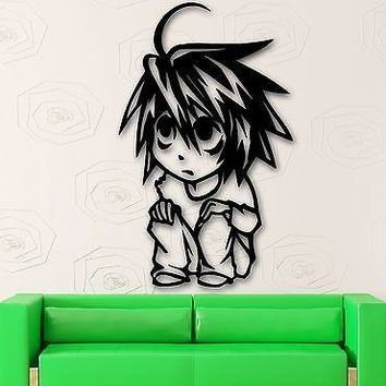 Wall Stickers Vinyl Decal Anime Boy Cartoon For Children Manga Teen Unique Gift (ig1472)