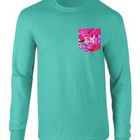 Sigma Kappa Pocket Tee