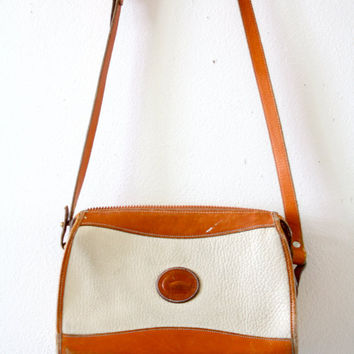 Vintage cream/white Dooney and Bourke purse by ThisVintageGirl