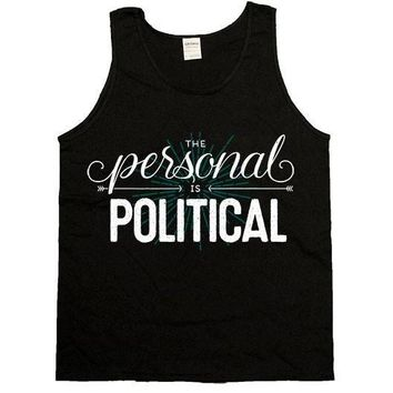 The Personal Is Political -- Unisex Tanktop