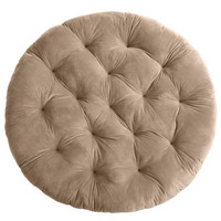 Plush Khaki Papasan Cushion