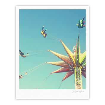 "Libertad Leal ""Flying Chairs"" Fine Art Gallery Print"