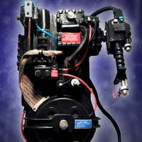 Custom Ghostbusters Proton Pack and Thrower Movie Prop Replica