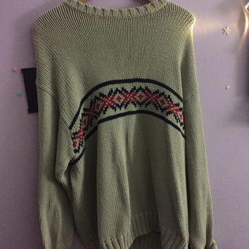 Men's Over sized Eddie Bauer Sweater