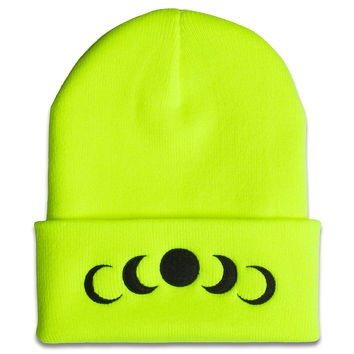 Phases Beanie in Volt