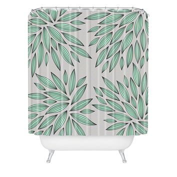 Gabi Mint Shower Curtain
