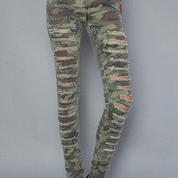 Karmaloop.com - Global Concrete Culture - The Ripped Up And Down Camo Jean by Tripp NYC