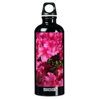 SIGG Custom Water Bottle, Pink Flowers