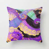 Tentacles Throw Pillow by SIINS