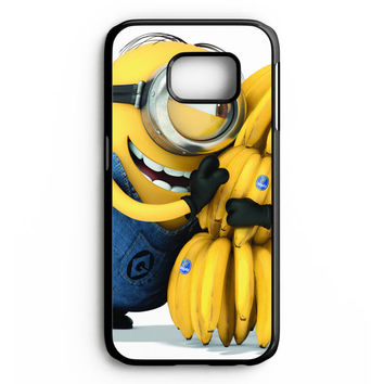 Minion Love Bananas Samsung Galaxy S6 Edge Case