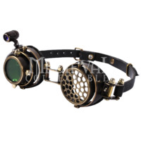 Steampunk Polarized Lens Goggles - RL-SP071 by Medieval Collectibles