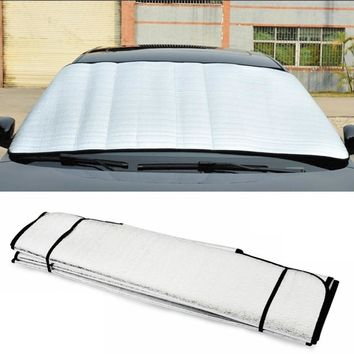 Car Styling Durable Front Window Sunshade Car Windshield Sun Shade Foldable UV Protect #HP