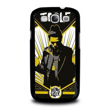 j cole born sinner samsung galaxy s3 case cover  number 1