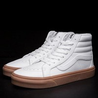Vans SK8-HI Leather Flats Sneakers Sport Shoes-