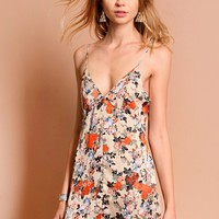 Wild Cat Floral Slip Dress | Threadsence