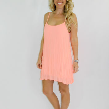 Whimsy Dress: Coral
