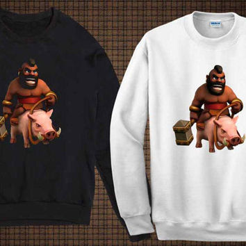 hog sweater clash of clan sweatshirt fit for you and your children