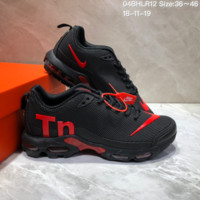 DCCK2 N647 Nike Air Max Plus TN Ultra Running Shoes Black Red