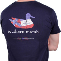 Authentic Mississippi Heritage Tee in Navy by Southern Marsh