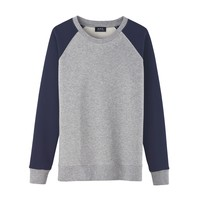 TWO-TONE BASEBALL SWEATSHIRT