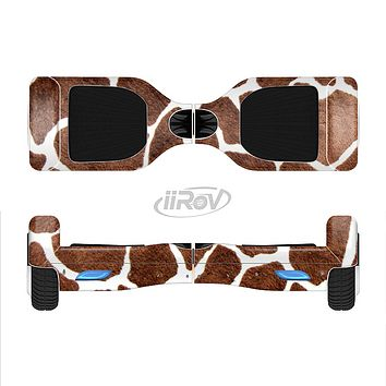 The Real Giraffe Animal Print Full-Body Skin Set for the Smart Drifting SuperCharged iiRov HoverBoard