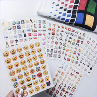 19-pack emoji stickers from MaryJanenite