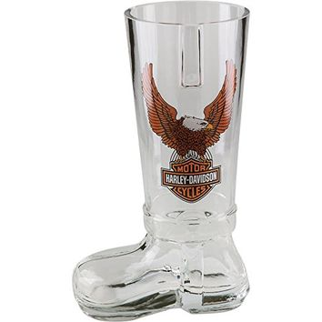 Harley-Davidson Bar & Shield Glass Beer Boot