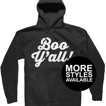 Boo Y'All Halloween Shirt, Funny Graphic Tee
