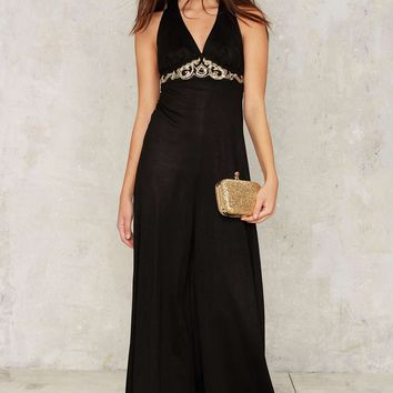 Vintage Upstage Wide-Leg Jumpsuit