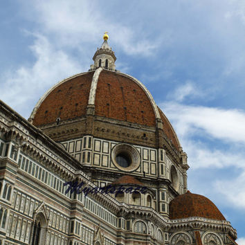 The Duomo of Florence, Travel to Italy, Firenze Duomo, Italian, European emblematic cityscape, romantic Florence architecture