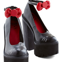 Jeffrey Campbell Stride for Purr-fection Heel | Mod Retro Vintage Heels | ModCloth.com