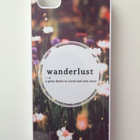 Wanderlust iPhone Case - iPhone